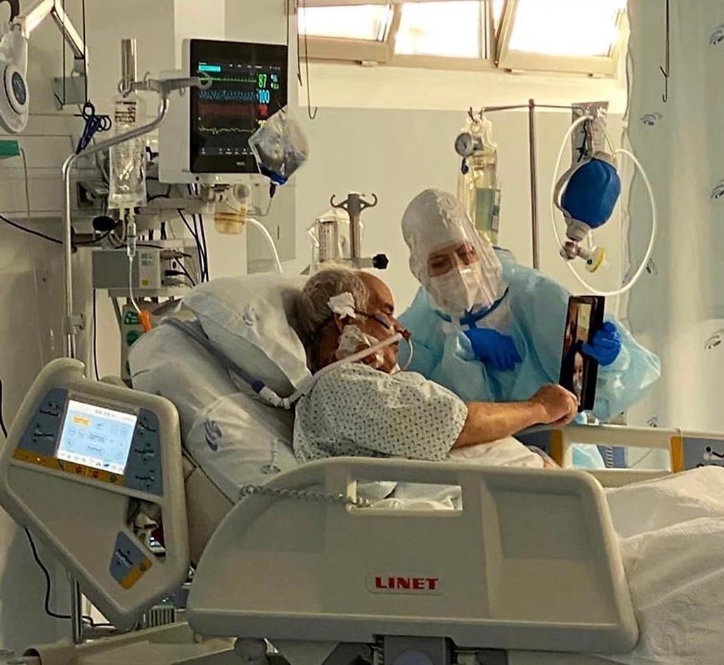 Unidade dos Cuidados Intensivos do Hospital de Évora. Foto: HESE