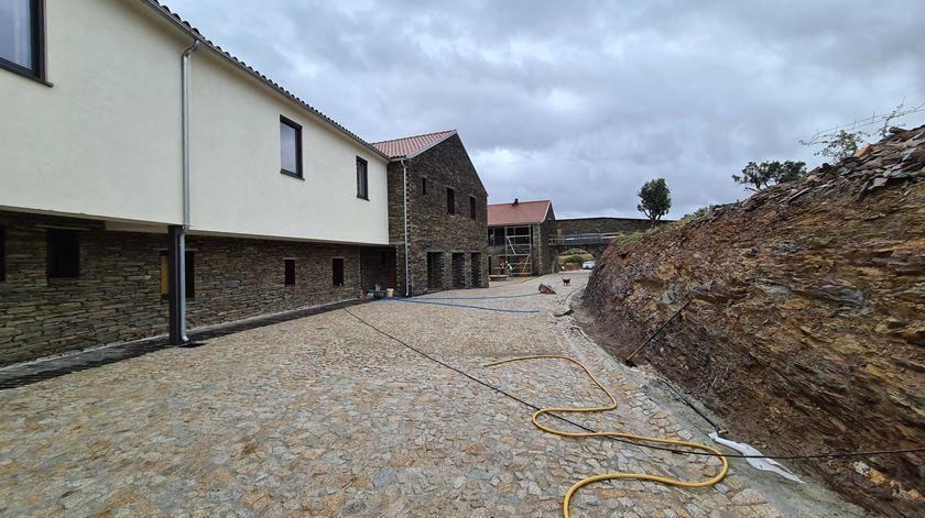 Exterior da casa de acolhimento do mosteiro trapista. Foto: Olímpia Mairos/RR