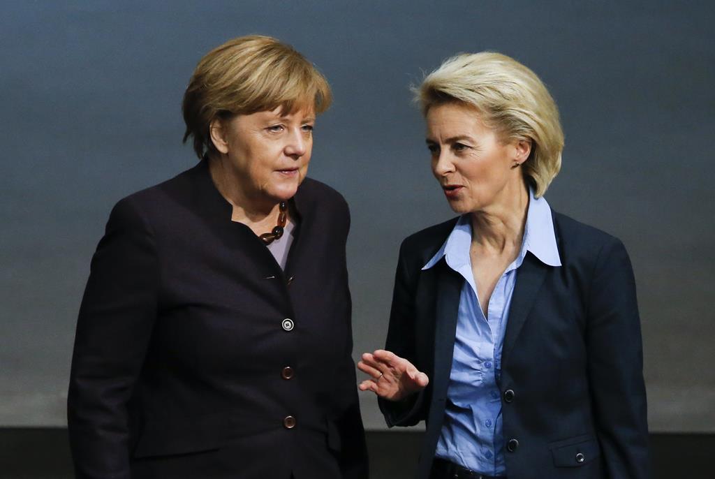 Ataque de Merkel a Portugal foi durante um encontro com Ursula Van der Leyen. Foto: Fabrizio Bensch