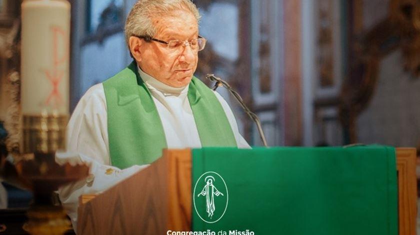 Padre Manuel Horácio Alves Gomes morreu com Covid-19. Foto: DR