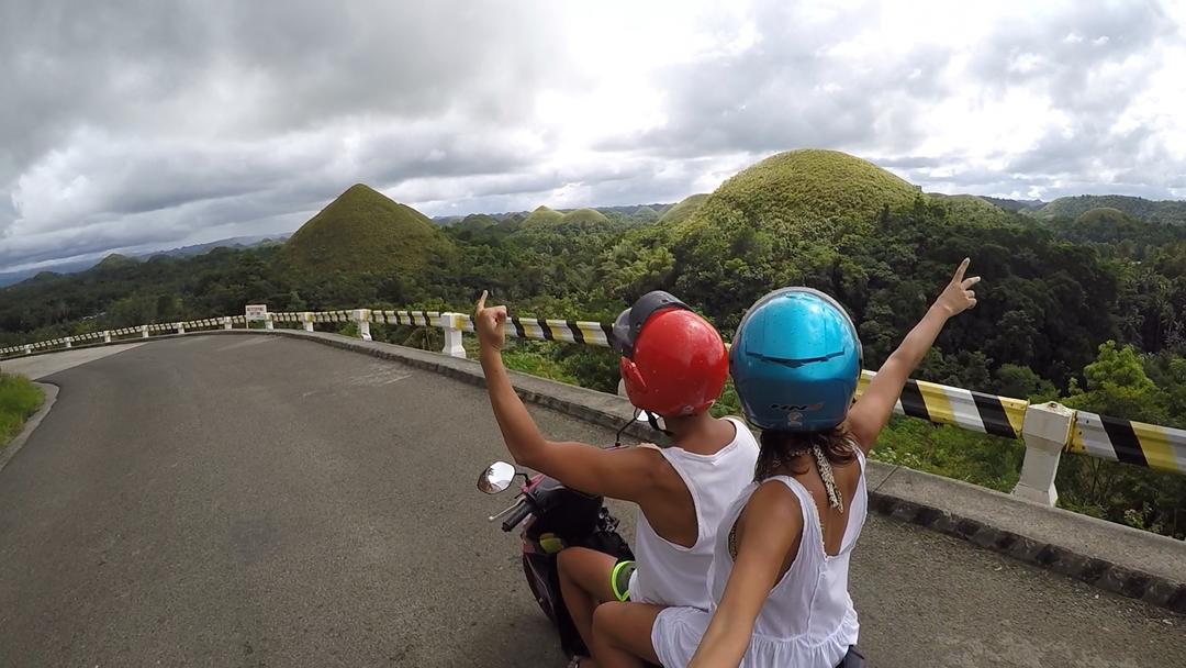 Nuno e Isabel numa viagem às Filipinas em 2019. Foto: DR