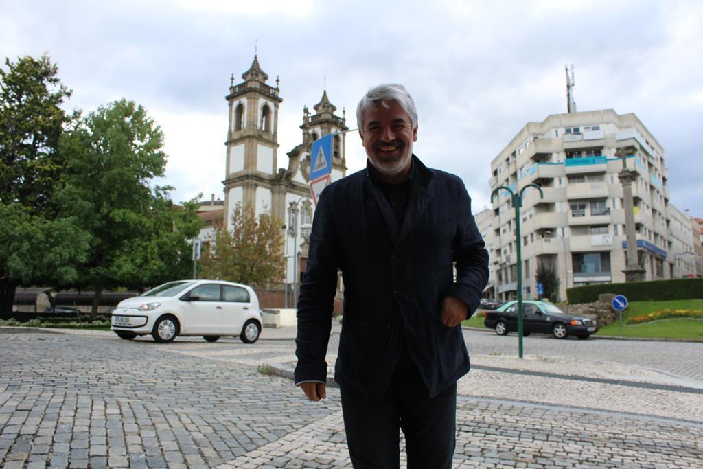 """João Fonseca, candidato do PS a Viseu, diz que a vitória de Ruas seria um """"descalabro"""" para o concelho. Foto: Liliana Carona/RR"""