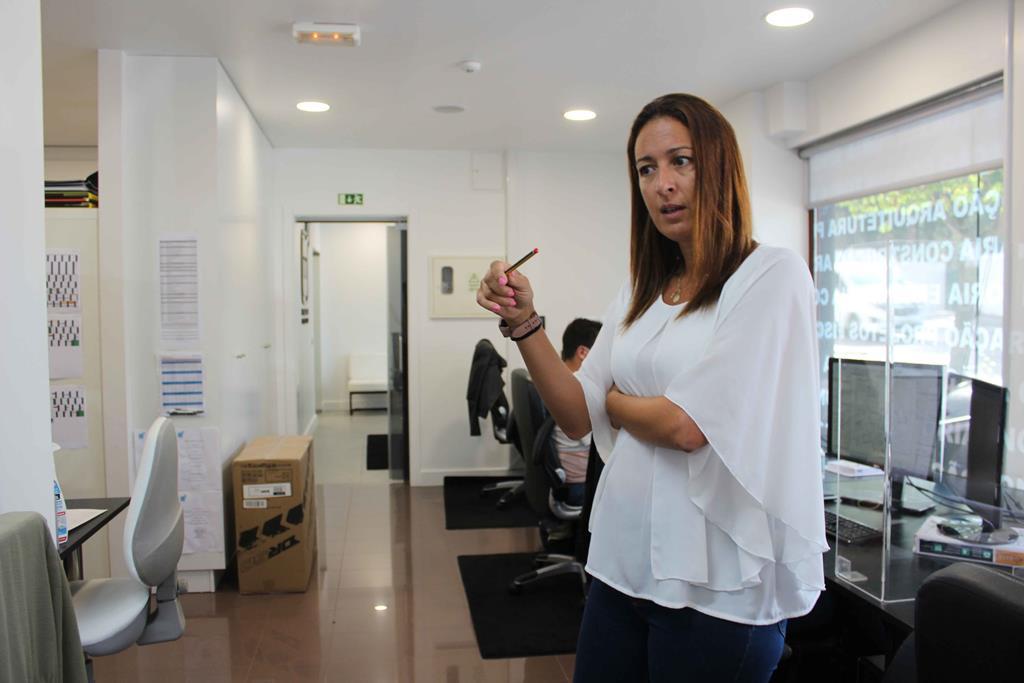 A CEO da empresa, Ana Moura, defende liberdade com responsabilidade. Foto: Liliana Carona/RR