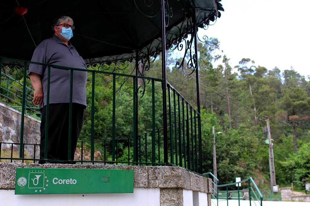 António Abrantes recorda o passado de uma tradição com 130 anos. Foto: Liliana Carona/RR