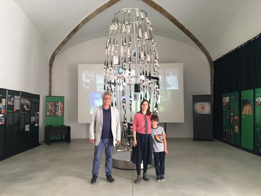 """Em torno deste """"Candelabro"""" nasce uma exposição que conta a história de Aristides de Sousa Mendes e daquele período da História de Portugal. Foto: DR"""