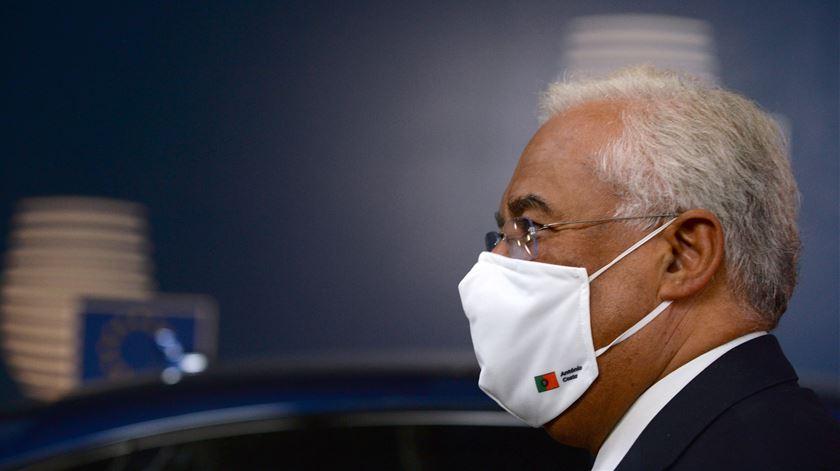 António Costa realça acordo a 27, apesar de montante a fundo perdido ter diminuído. Foto: Johanna Geron/EPA