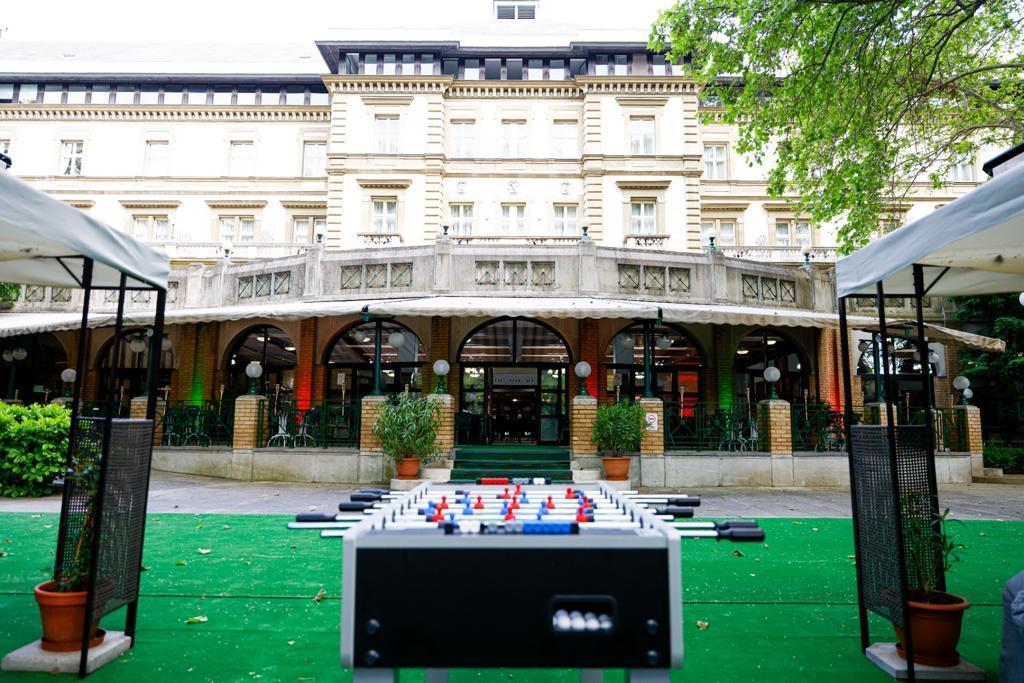 Comitiva portuguesa continuará hospedada em Budapeste Foto: FPF