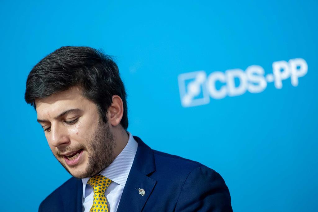 Francisco Rodrigues dos Santos - líder do CDS Foto: José Sena Goulão/Lusa