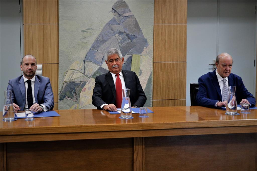 Frederico Varandas também deixa recado a Pinto da Costa. Foto: António Cotrim/Lusa