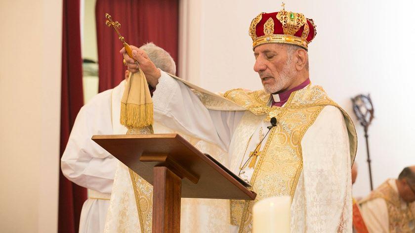 Mar Gewargis III Sliwa, patriarca da Igreja Assíria do Oriente. Foto: Facebook Igreja Assíria do Oriente