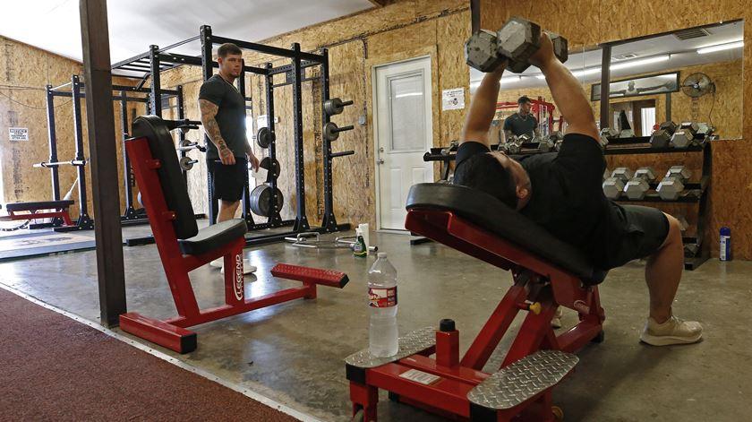 Relativamente à prática de atividade física, 60,9% reportaram níveis baixos.  Foto: Larry W. Smith/EPA