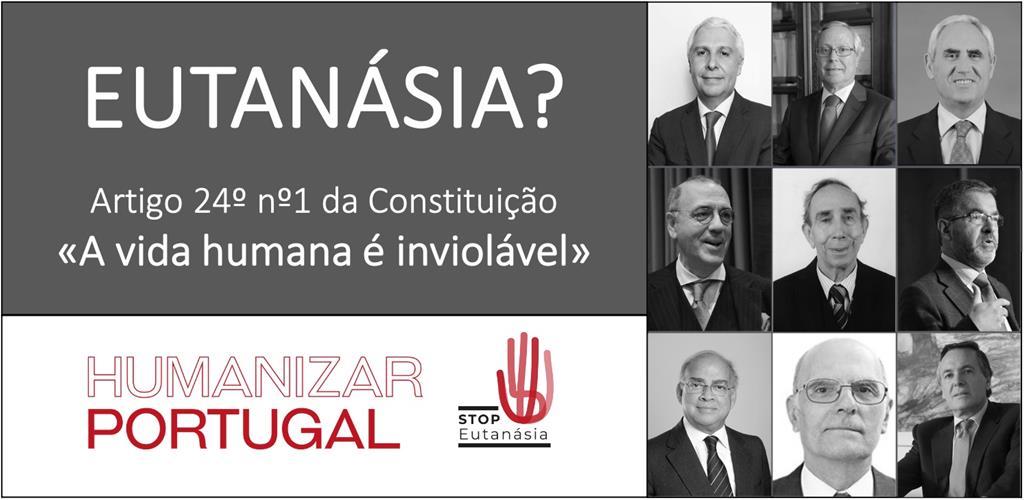 Professores de Direito dão a cara pela inconstitucionalidade da Eutanásia. Foto: Stop Eutanásia