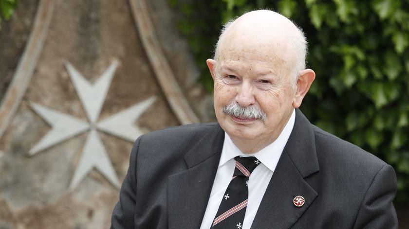 Grão-Mestre da Ordem de Malta, Giacomo dalla Torre del Tempio di Sanguinetto. Foto: Ordem de Malta
