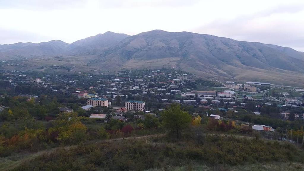 A vila de Hadrut, em Nagorno Karabakh, agora ocupada pelo Azerbaijão. Foto: Irina Safaryan