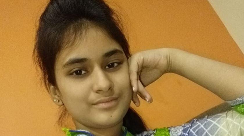 Huma Younus, jovem cristã raptada no Paquistão. Foto: AIS