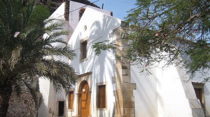 Igreja de Nossa Senhora do Rosário, em Cabo Verde. Foto: Wikicommons