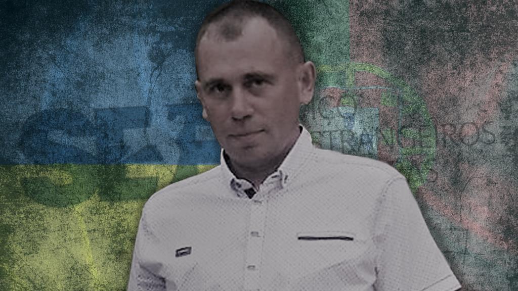Ihor Homenyuk, cidadão ucraniano que morreu à guarda do SEF. Fotomontagem: Ricardo Fortunato/RR