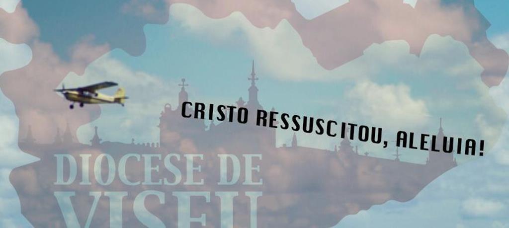 A diocese de Viseu vai recorrer a duas avionetas para o anúncio pascal. Foto: DR
