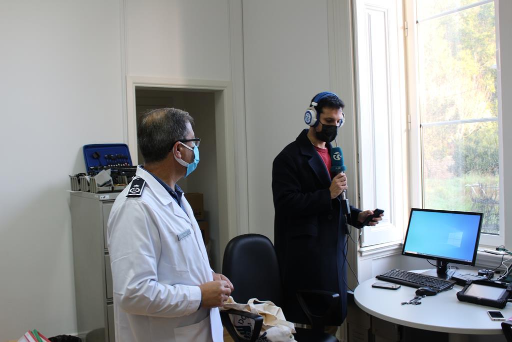 Departamento de Investigação Criminal da PSP, em Queluz. Foto: PSP
