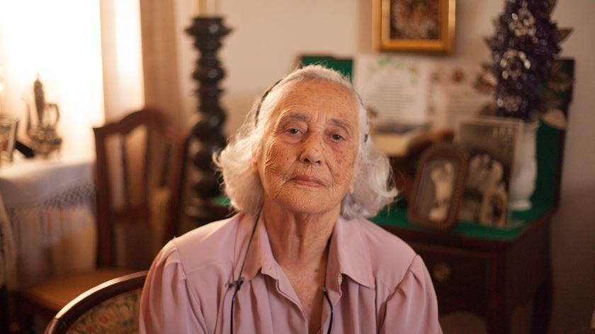 Aida Sousa, mulher do diretor da TWA em Santa Maria. Foto: João Carlos Malta/RR