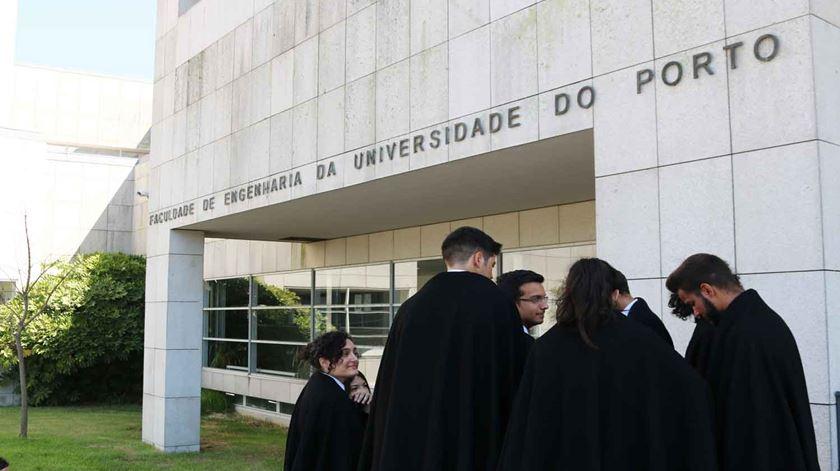 Estudantes do Porto com possibilidade de arranjar alojamento mais barato no Seminário de Vilar. Foto: Sara Ferreira/RR