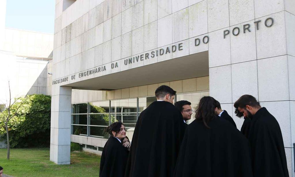 Faculdade de Engenharia, da Universidade do Porto. Foto de arquivo: Sara Ferreira/RR