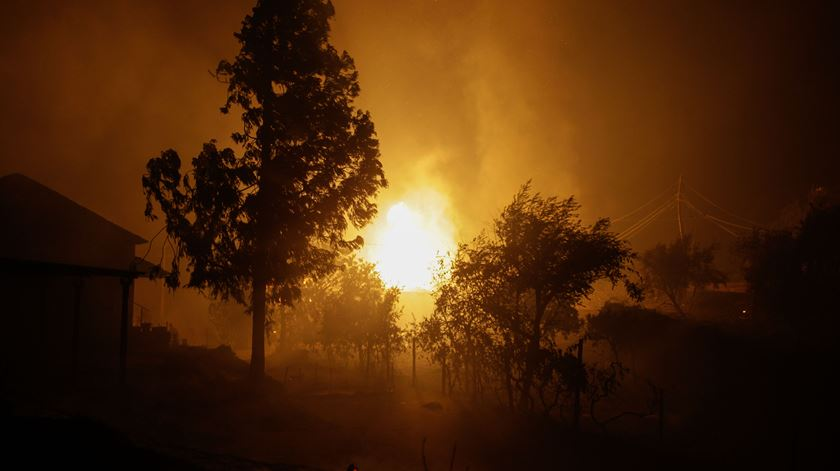 """Presidente da Liga dos Bombeiros Portugueses, Jaime Marta Soares, descreve incêndio de Pedrógão Grande como """"algo descomunal e nunca visto"""""""