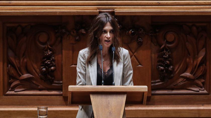 Deputada do PS, Isabel Moreira. Foto: Mário Cruz/Lusa