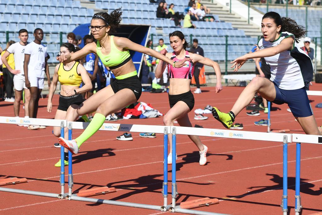Competição de Atletismo promovida pelo Desporto Escolar Foto: Desporto Escolar