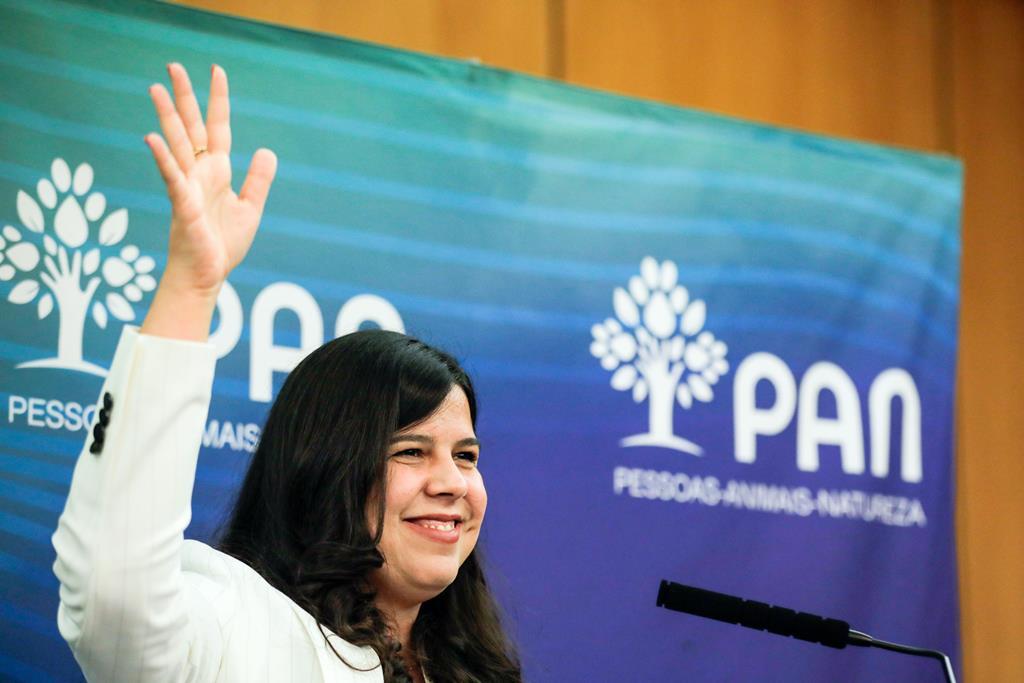 Inês de Sousa Real quer dizer adeus a Cabrita. Foto: Paulo Cunha/Lusa