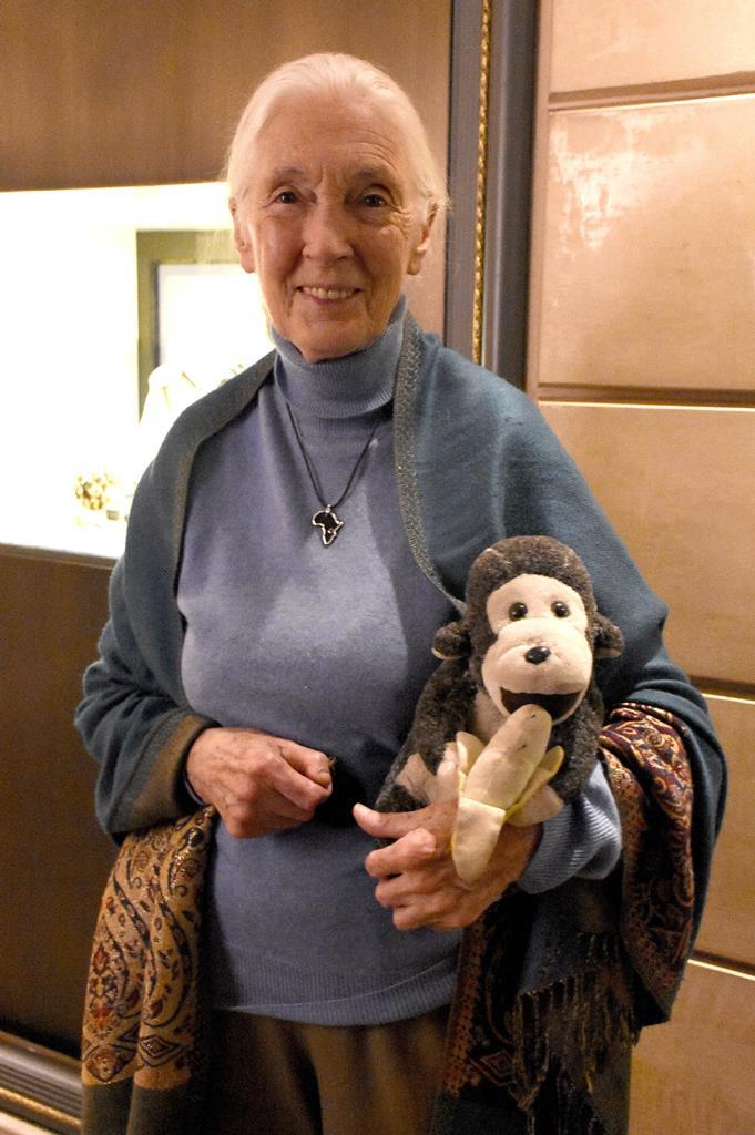 Ambientalista e ativista Jane Goodall. Foto: Imago/Reuters