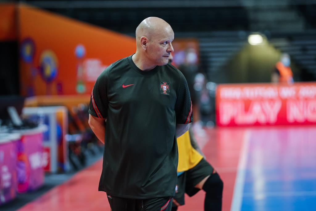 Jorge Braz, Portugal, futsal. Foto: FPF
