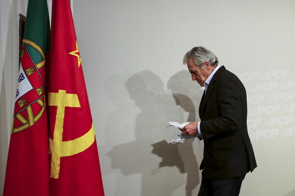 Jerónimo de Sousa critica Governo pela resposta à crise da pandemia. Foto: Nuno Fox/Lusa