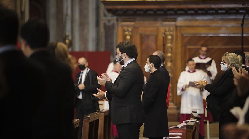 Tiago Brandão Rodrigues, ministro da Educação, esteve presente na cerimónia. Foto: Inês Rocha/RR