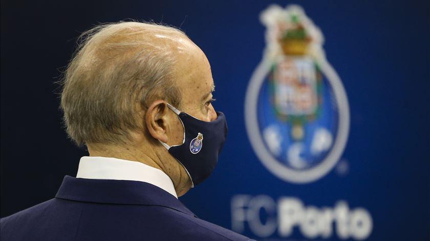 Pinto da Costa teve dois concorrentes à presidência do FC Porto. Foto: José Coelho/Lusa