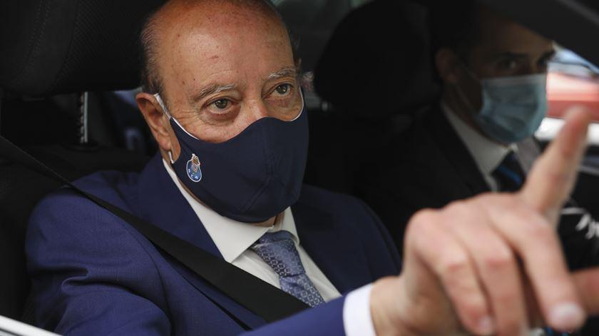 Pinto da Costa considera que António Costa procura popularidade e aconselha Vieira a desligar-se do seu apoio Foto: Lusa