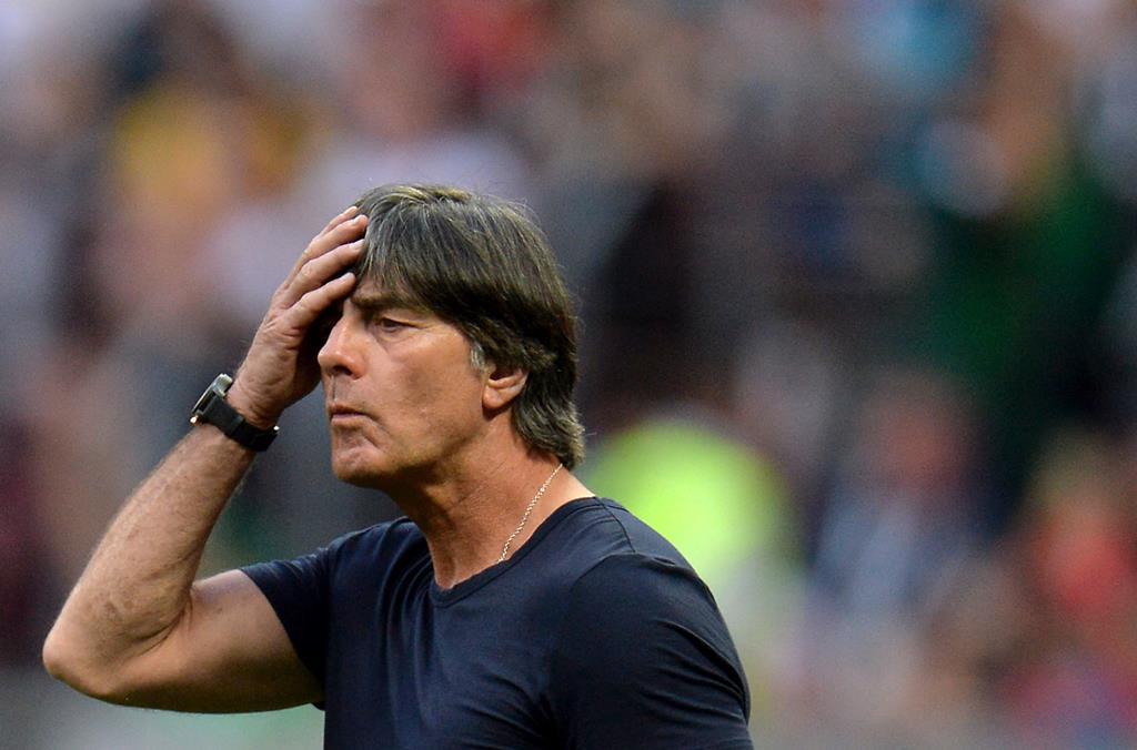 Joachim Löw diz que derrota com a França não abalou a sua equipa Foto: Peter Powell/EPA