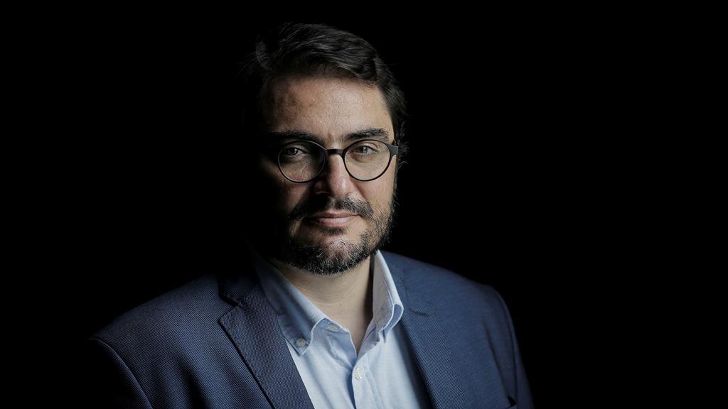 João Oliveira, líder parlamentar do PCP. Foto: Daniel Rocha/Público