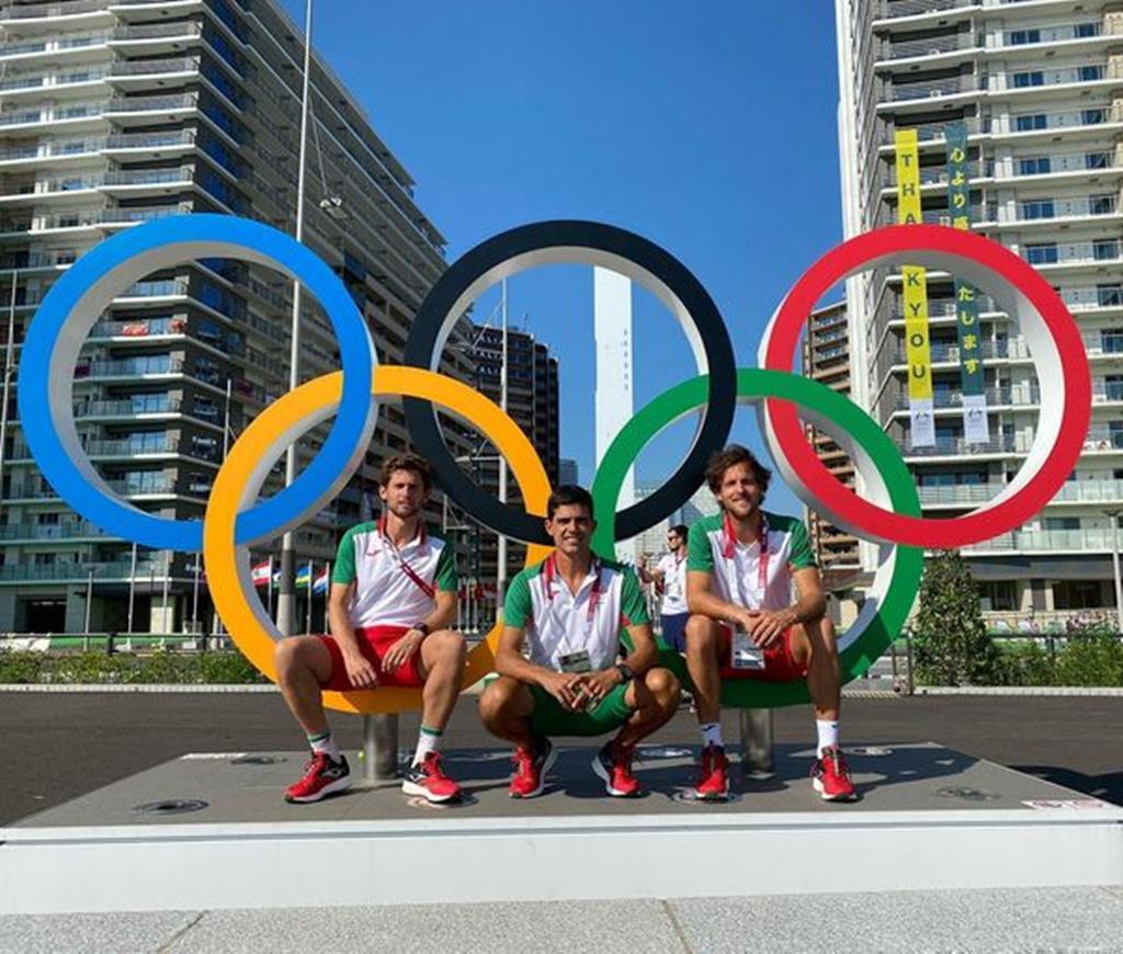 João e Pedro Sousa, Portugal, ténis, Jogos Olímpicos. Foto: Facebook