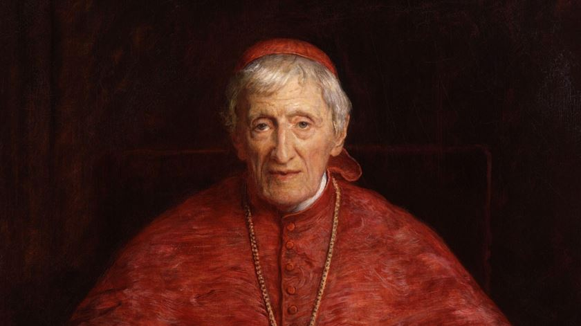 Cardeal Newman, retratado por John Everett Millais
