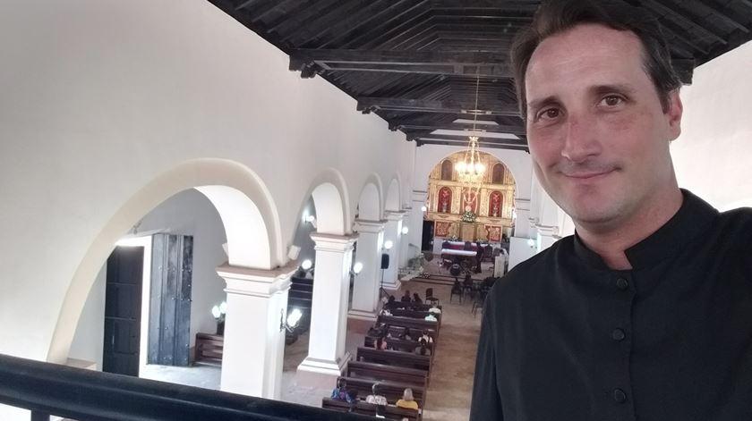 Padre José Manuel de Jesus Ferreira, assassinado na Venezuela em outubro de 2020. Foto: Facebook