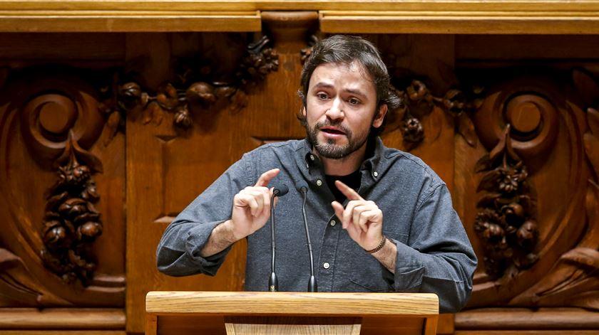 José Soeiro. Foto: José Sena Goulão/Lusa