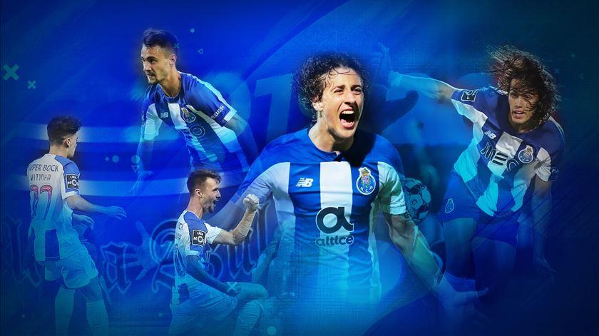 A formação marcou pontos (e golos) no FC Porto. Imagem: Rodrigo Machado/RR
