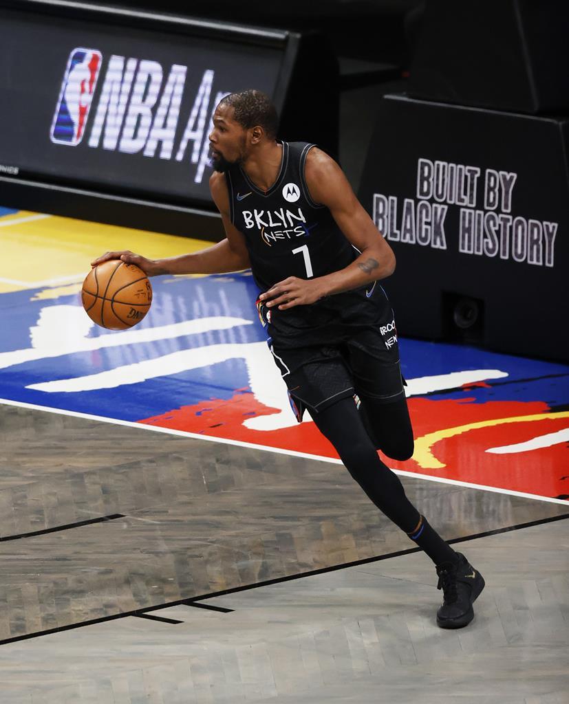 Kevin Durant, Brooklyn Nets. Foto: Jason Szenes/EPA