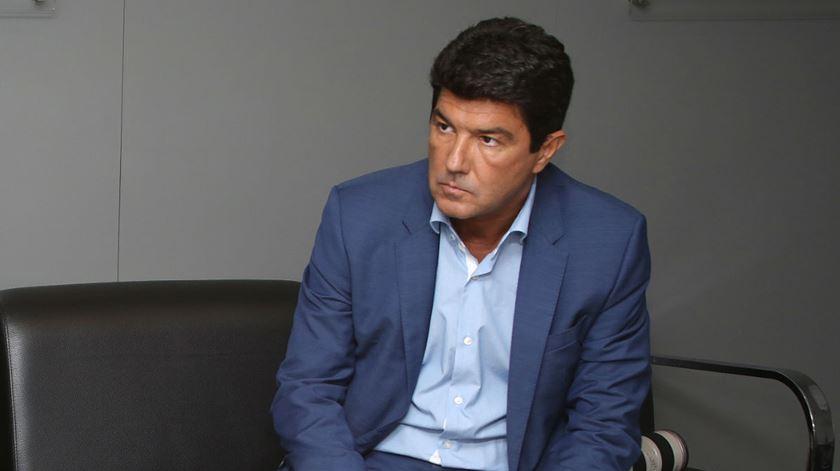 Luís Bernardo é o director de comunicação do Benfica. Foto: SL Benfica