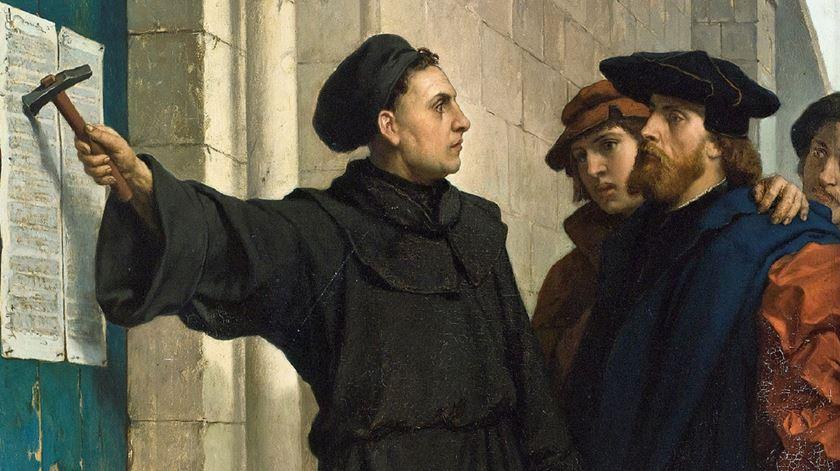 Martinho Lutero dá início à reforma protestante, mesmo que não o soubesse na altura. Foto: DR