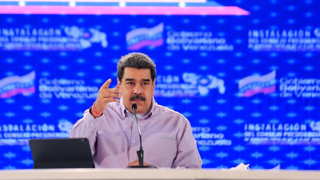 Nicolas Maduro Foto: Miraflores Press/EPA
