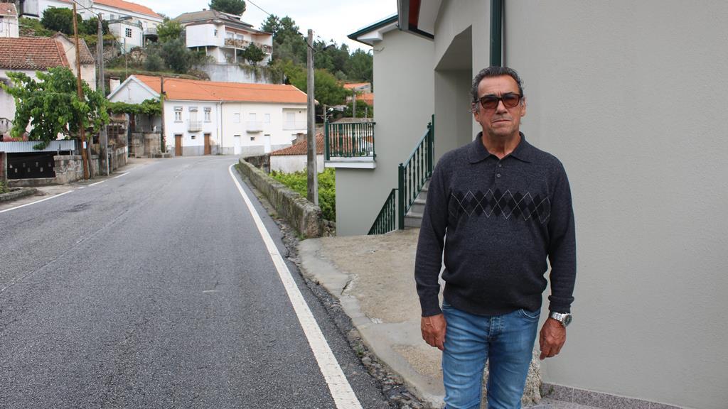 Manuel Marques gostava de ver mais listas em São Paio. Foto: Liliana Carona/RR