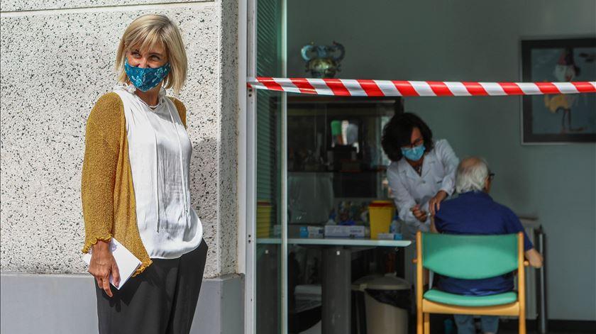 Ministra da Saúde anunciou também a contratação de médicoshospitalares, de saúde pública e medicina geral e familiar. Foto: António Pedro Santos/Lusa