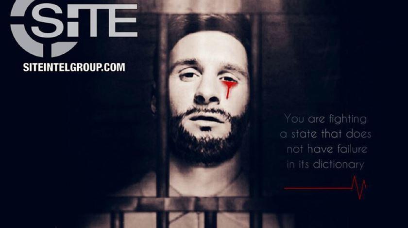 Estado Islâmico usa Messi para ameaçar mundial. Foto: DR